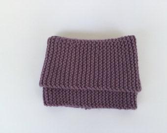 Baby wool blend scarf