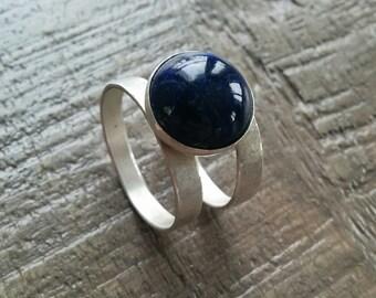 Silver .925 Lapis Lazuli ring