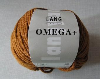 """Four Lang Omega+ Yarn/Wolle """"Cognac"""" Balls"""