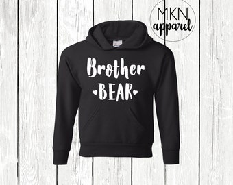 Brother Bear Shirt, Brother Bear Hoodie, Brother Bear Sweatshirt, Baby Announcement