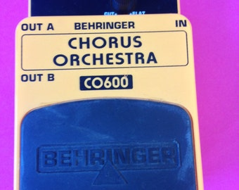 Behringer CO-600 Stereo Chorus Effects Pedal