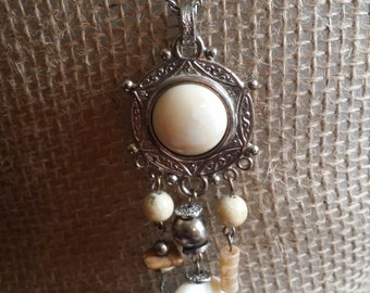 Ivory Pendant Necklace