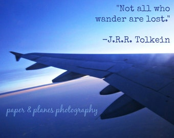 8x10 not all who wander are lost - INSTANT DOWNLOAD