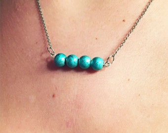 little blues necklace