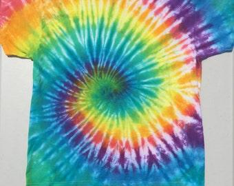 Rainbow Swirl. Size XL.