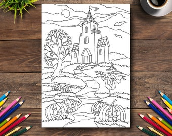 Halloween Coloring Page 29