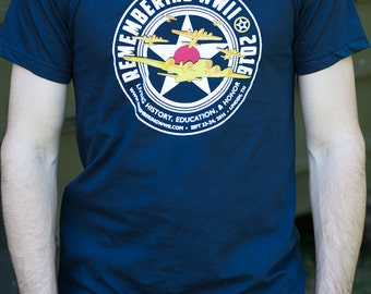 Remembering WWII 2016 T-shirt