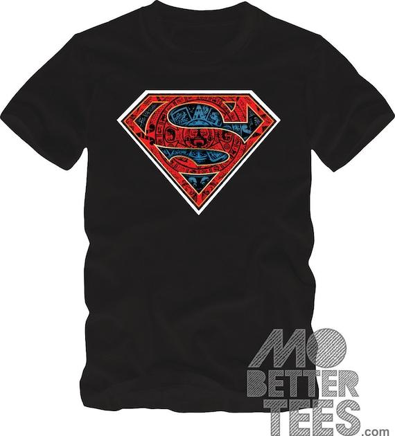 Aztec Mayan Calendar Superman T-Shirt
