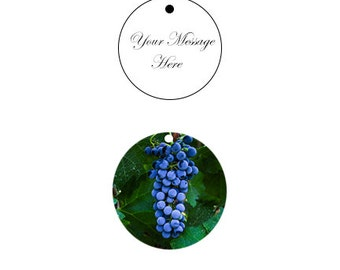 Personalized Wine hang tags, for weddings, gifts Set of 10