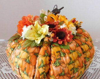 Decorative Fabric Pumpkin