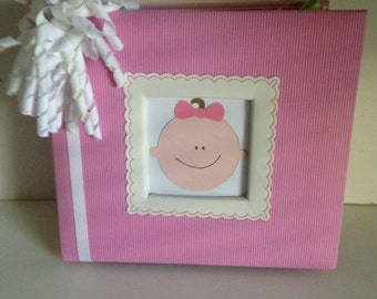 Baby Girl 8 x 8 Premade Album