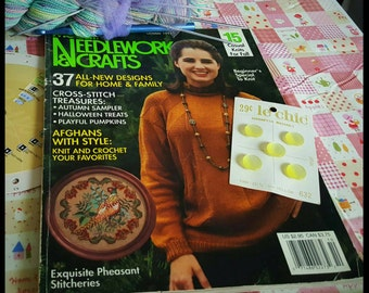 October 1991 McCall's Needlework and Crafts Magazine