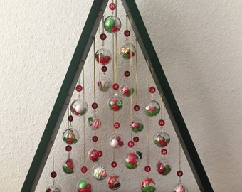 Tree advent calendar | Etsy