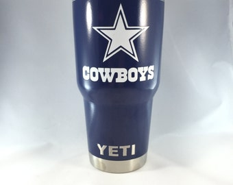 Cowboys Tumbler Etsy