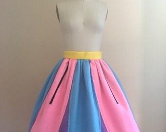 Enchanted Teacup Skirt - Custom Made Gathered Skirt