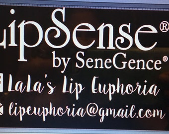 LipSense Car decal/lipstick/car
