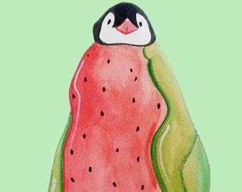 Baby Watermelon Penguin