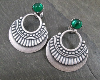 Tribal Plugs - 10g - 8g - 6g - 4g - 2g - 0g - Gothic Gauges - Plug Earrings - Gothic Jewelry
