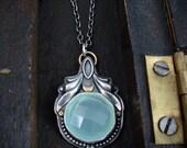 Atlantis ... chalcedony pendant