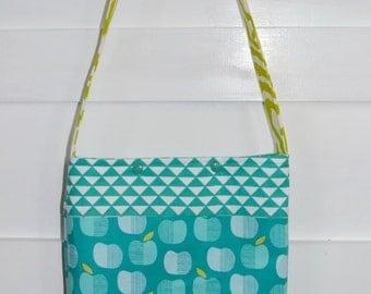 Girls Bag - Girls Purse - Little Girl Tote Bag - Turquoise Girls Bag - Girls Church Bag - Kids Bag - Girls Scripture Bag -