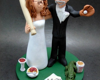 New York Mets Baseball Wedding Cake Topper Baseball Team