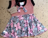 Baby & Kids Circle Skirt Dress Spicy Toast 6 month