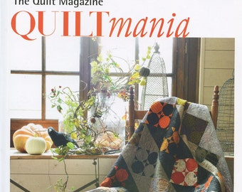 QUILTmania The Quilt Magazine No 115 September October 2016 Free Domestic Shipping!