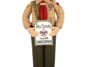 Boy Scout Ornament