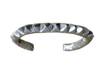 Stud Bracelet    cuff stud studded silver gold jewelry