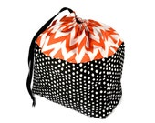 Large Bags for Knitters, Knitting Project Bag, Large Knitting Bag, Organic Cotton Bag