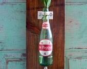 Dr. Pepper Vintage Bottle Opener Wall Vase-