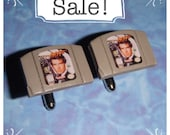 SALE! CUFFLINKS N64 Nintendo 64 Games - James Bond Goldeneye cartridge (or other game)