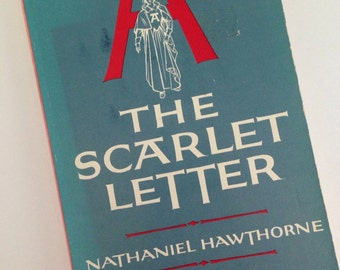 1961 The Scarlet Letter by Nathaniel Hawthorne - School Edition - Literary Heritage
