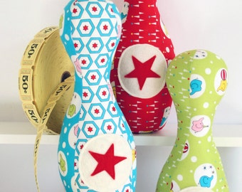 Circus Skittles : A PDF mini sewing pattern