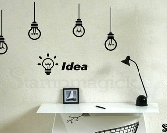 Creative wall decal Etsy