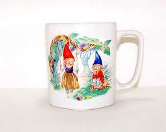Vintage Made in Japan Gnome Mug