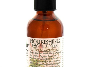 Nourishing Facial Toner With Aloe And Geranium