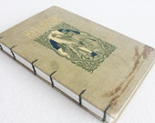 Vintage Book Journal / Recycled Book / Historic Scenes in Fiction Rebound Journal by PrairiePeasant