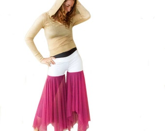 Pretty in Pink - Belly Dancer Bliss Pants - Full Spin