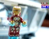32GB USB Stick in a original complete Lego® Figure Eccentric Superhero