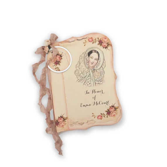 Bridal Shower Guest book, Shower Gift Registry, Pink Roses Journal ...
