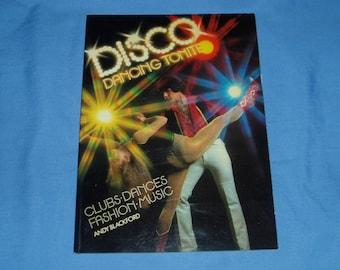 Vintage 70s Disco Dancing Book Studio 54 John Travolta Saturday Night Fever Lots of Photos