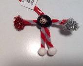 Buckeye Cheerleader Ornament