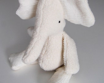 Eco Organic Natural Elephant Doll Stuffed Animal Toy