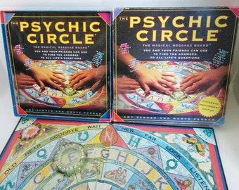 The Psychic Circle Message Board Game Amy Zerner Monte Farber Ouija Style Spirit Board Astrology Fortune Telling Devination Zodiac Zen Tarot