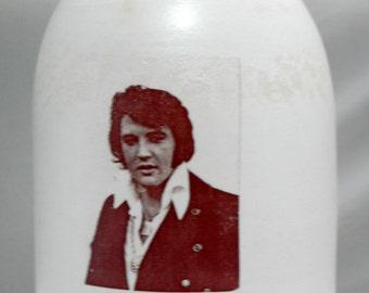 Elvis moonshine whiskey jug handmade