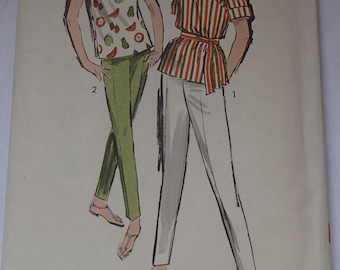 Vintage 1950s Advance Sew-Easy Pattern # 2875 Size 18