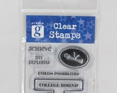 Studio G Clear Stamps - College Bound - RS010