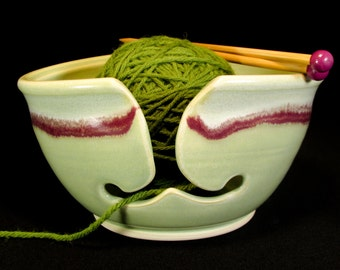 Yarn Bowl Large - Knitting Bowl Large - Large Knitting Bowl - Large Yarn Bowl - Ceramic Knitting - Crochet Bowl - Yarn Holder - In Stock