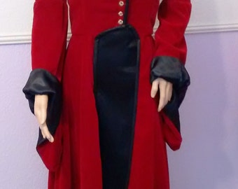 Riding Coat Inspired by Regina, Once Upon a Time